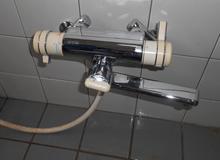 お風呂場の蛇口の水漏れ