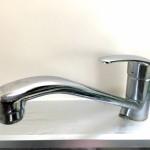 ハンドル式の蛇口で水が止まらない場合、ちょっと掃除すれば直るかも?